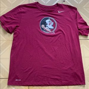 Nike Dri Fit FSU Athletic cut men's size XL